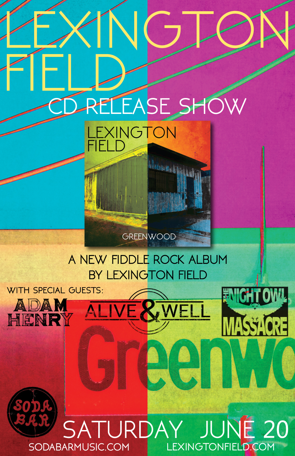Greenwood Release Poster