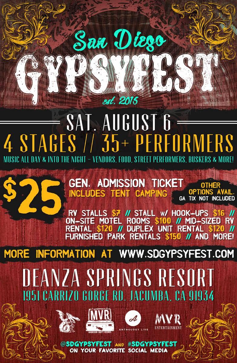 gypsyfest poster